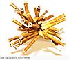 Шар конструктор d4 (260) металлик золото