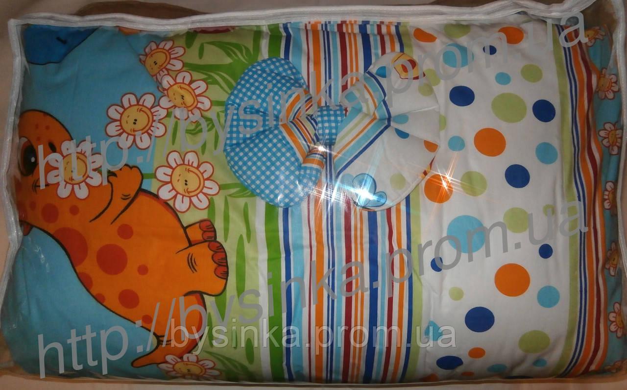 Постельный комплект для новорожденного. Балдахин -фатин +ткань