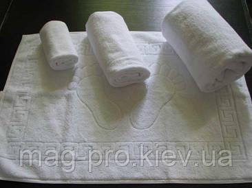 Махроове полотенце плотность 450гр./м2 - белое Пакистан