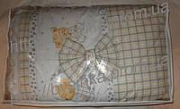 Постельный комплект 8 элементов. Балдахин -фатин +ткань, фото 1