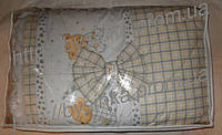 Постельный комплект 8 элементов. Балдахин -фатин +ткань