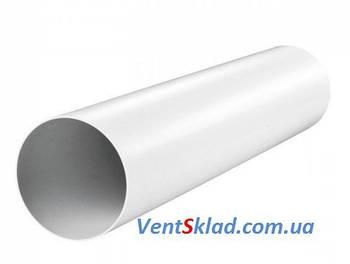 Круглый пластиковый воздуховод d100