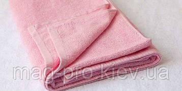 Розовое махровое полотенце Cholzer 70х140 плотность 420 Турция, фото 2