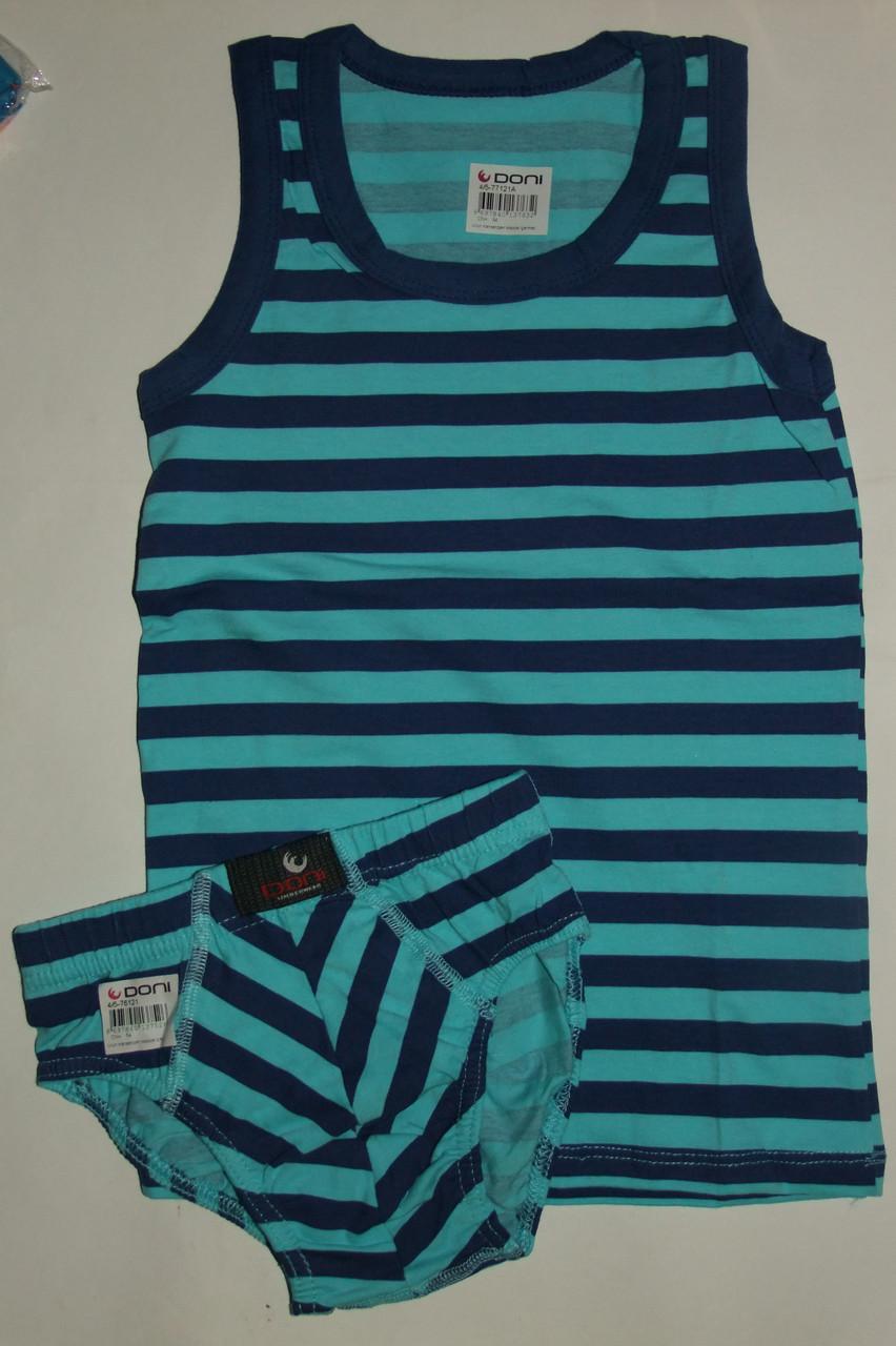 Комплект белья DONI на мальчика 4/5 лет Турция,разные цвета.