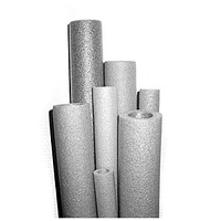 Изоляция для труб 18мм/диаметр, 6мм/толщина стенки, утеплитель для труб, изоляция трубная