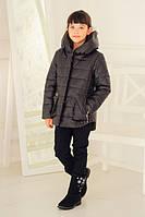 Куртка весна-осень для девочек, размеры 32,34,36,38,40, утеплитель — холофайбер (весна)