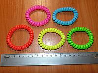 Резинки силиконовые спираль большие