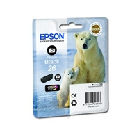 Картридж струйный Epson для Expression Premium XP-600/XP-605/XP-700 №26 Photo Black (C13T26114010)