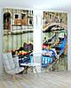 Фотошторы города гондола на венецианской улочке