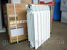 Биметаллический радиатор утолщенный  RONDO Plus  500/80/110мм. 6 секций. Tianrun Рондо плюс