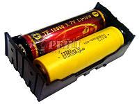 Батарейный отсек под распайку 2-х 18650/17650 (Li-ion/LiFePO4)
