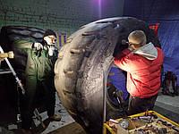 Ремонт крупногабаритных шин