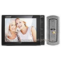 Видеодомофон LUXURY(домофон квартира) 806 R2 черный цветной память  SD