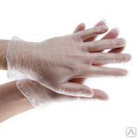 Перчатки виниловые для работы с мастикой (размер L) 1 шт