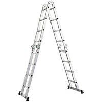 Шарнирная лестница FORTE FE 4x4 без помоста