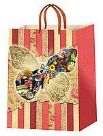 Подарочные пакеты для девушек размер 38 х 24 см  (12 шт./уп.)