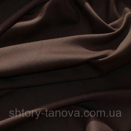 Декор рогожка брук т. коричневий