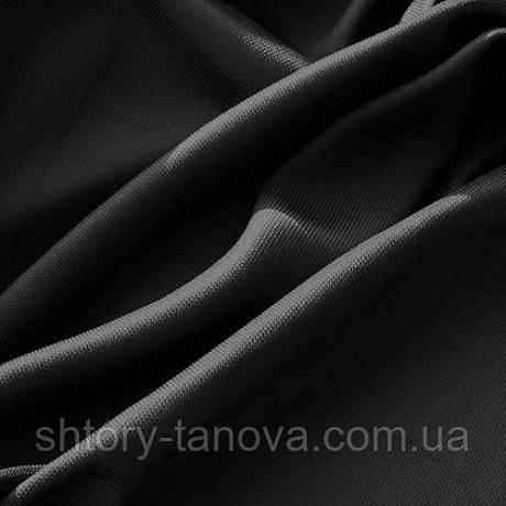 Рогожка для пошива штор черный