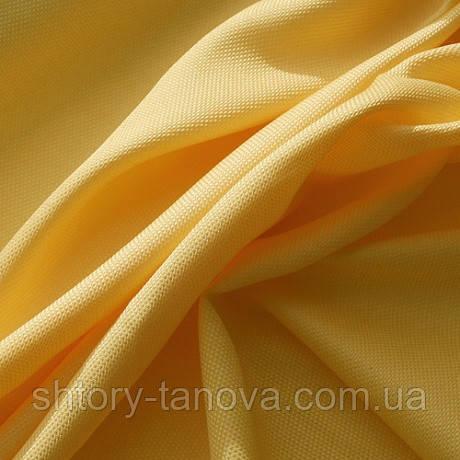 Рогожка ткань для штор легкая желтый