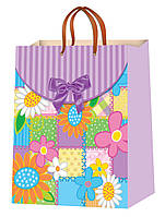 Подарочные пакеты для девушек размер 38 х 24 см (10 шт./уп.)