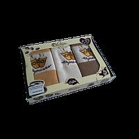 Набор кухонных полотенец Lotus Coffe 102