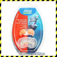 Беруши для плавания Zoggs Aqua-Plugz Junior, оранжевые.