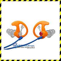 Беруши SureFire EarPro EP4 Sonic Defenders Plus оранжевого  цвета.
