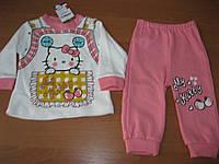 Детский костюмчик Китти для маленькой девочки 6,12 мес Турция