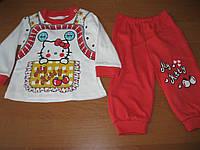 Детский костюмчик Китти для маленькой девочки  6   мес Турция
