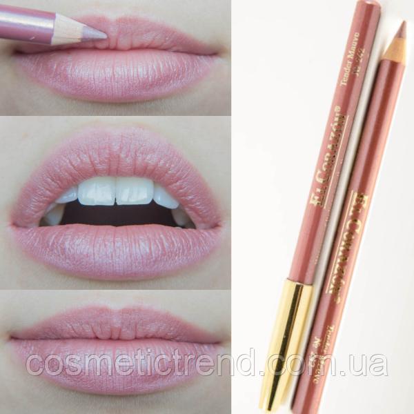 Карандаш контурный для губ деревянный № 242 Tender Mauve El Corazon Perfect Lips