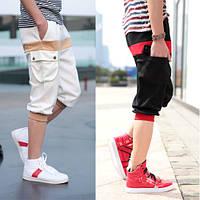 Модные мужские бриджи (белый), фото 1