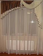 Ламбрикен Ассиметрия 2м коричневая, фото 1