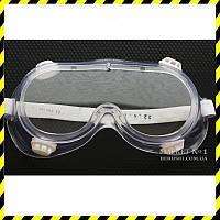 Защитные закрытые панорамные очки Classic, силикон.