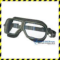 Защитные закрытые очки Капитал, метал + стекло.