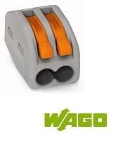 Компактные соединительные клеммы; 2-проводные клеммы WAGO 222-412