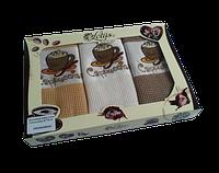 Набор кухонных полотенец Lotus Coffe 103