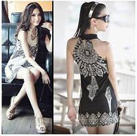 Шифоновое платье на лето