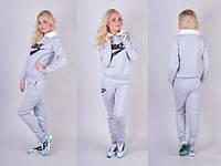 Костюм спортивный женский теплый с воротником Nike P774, фото 1
