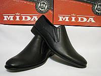 Туфли мужские кожаные класика Mида