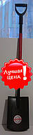 Лопата EURO штыковая (прямая) усиленная металическая,ПОЛЬША, фото 1