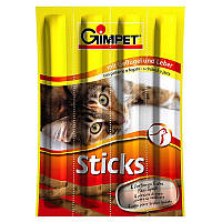 Лакомые палочки Sticks с индейкой и дрожжами для котов. 4 шт. (20 гр.)