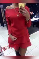 Платье с двойной юбкой, фото 1