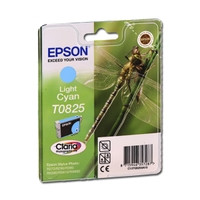 Картридж струйный Epson для Stylus Photo R270/T50/TX650 Light Cyan (C13T11254A)