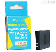 Аккумулятор для видеокамеры Samsung IA-BP80W, 1350 mAh.