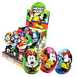 Яйцо шоколадное Mickey Mouse 25 г 24 шт (ANL), фото 2