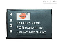 Аккумулятор для фотоаппарата Casio NP-20, 1200 mAh.