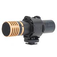 Профессиональный внешний стереомикрофон BOYA BY-VM100S.