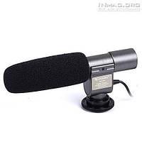 Профессиональный внешний стереомикрофон Shenggu SG-108 Shotgun.