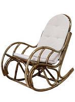"""Кресло-качалка """"Бали"""", Кресло качалка из ротанга"""