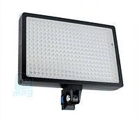 Профессиональный биколорный накамерный светодиодный свет LED-336A, 3000K-6000K.